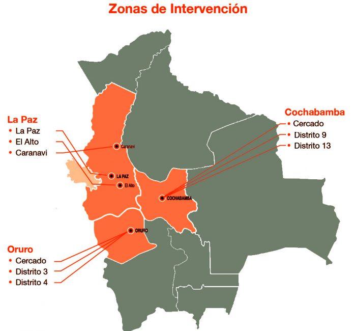 Zonas de Intervención